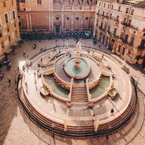fontana monumentale di palermo