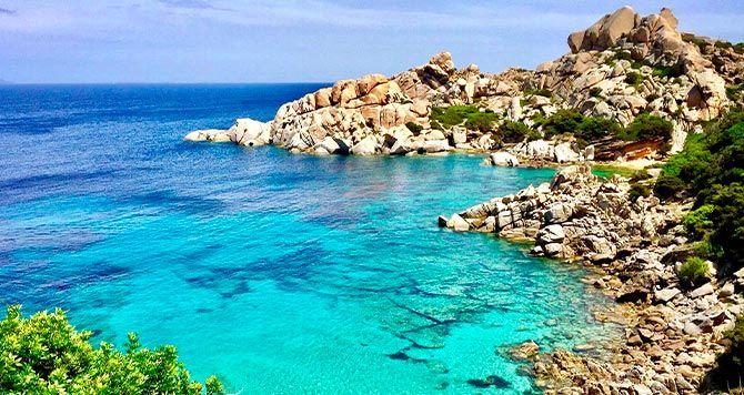 Strand von Sardinien
