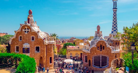 Parc Guell a Barcellona