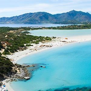 panorama mare e spiagge di cagliari