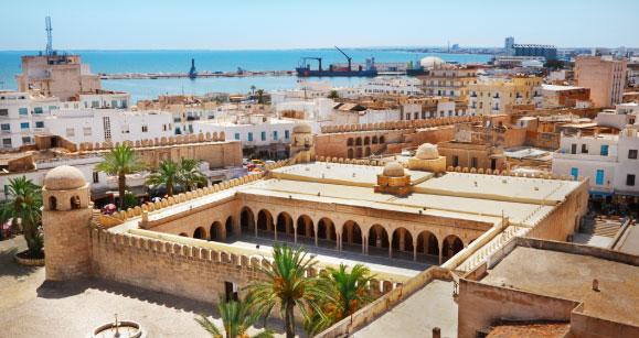 panorama centro tunisi